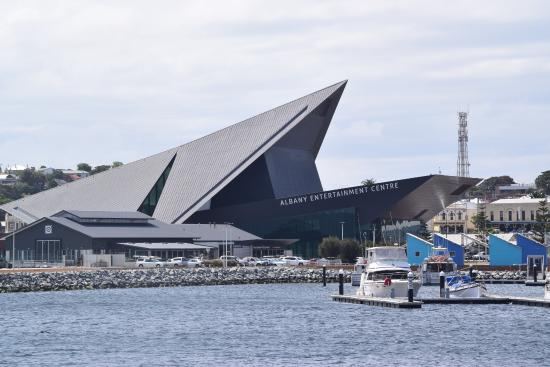 Albany Entertainment Centre: From the Marina
