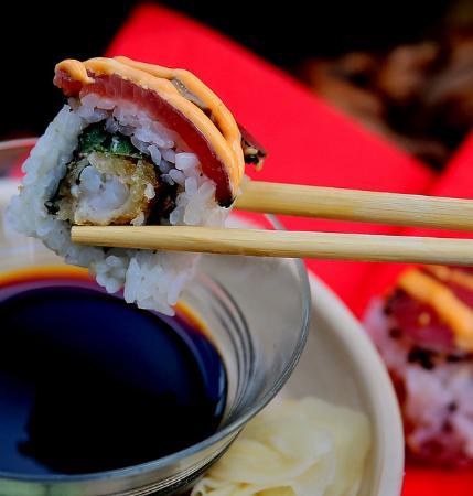 Bushido Sushi: Josh Shrimp Roll-crunchy with the right amount of spice