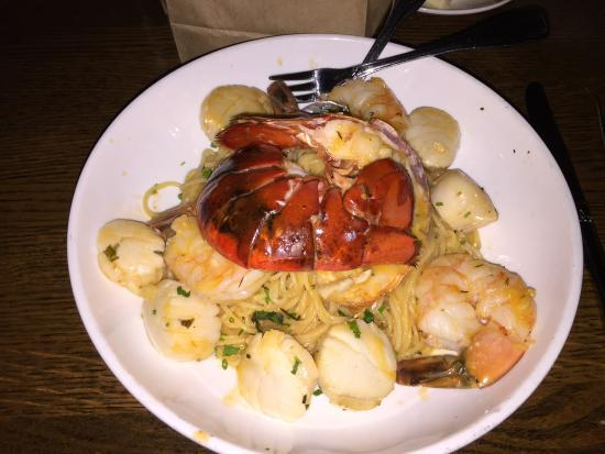 The Mooring Seafood Kitchen & Bar | Seafood Pasta Entree Picture Of The Mooring Newport Tripadvisor