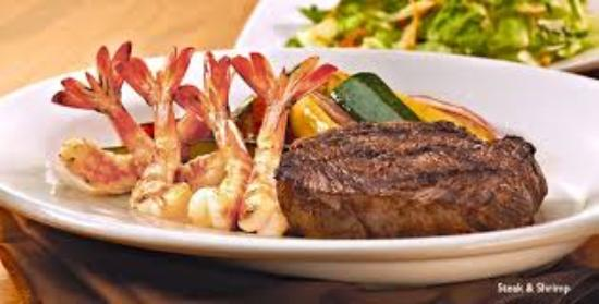 De Smet, Dakota du Sud : Delicious steak & shrimp
