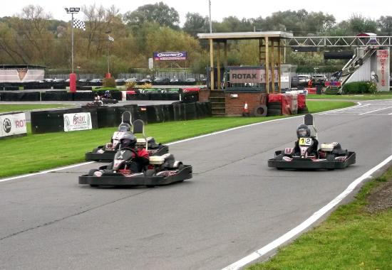 Boy Racers at Rye House Raceway - Picture of Rye House Kart