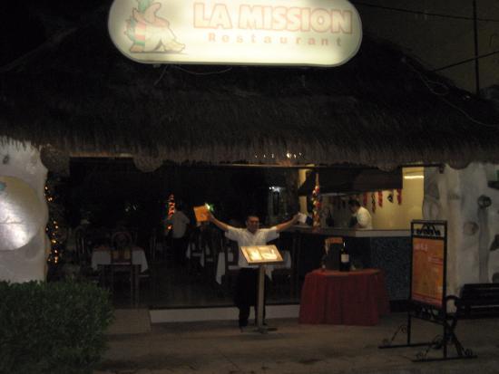 Front of La Mission