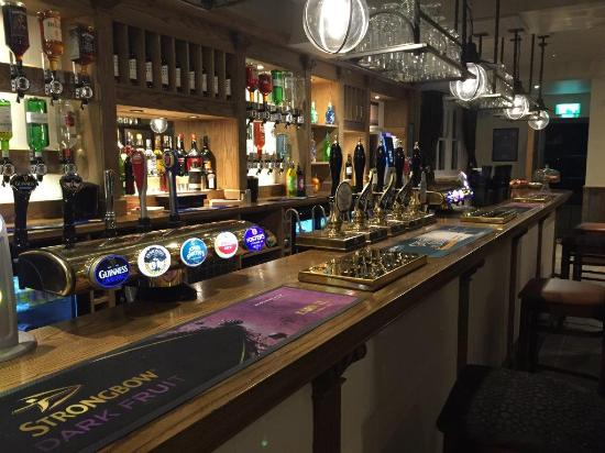 The Wash & Tope Hotel: Our beautiful new bar