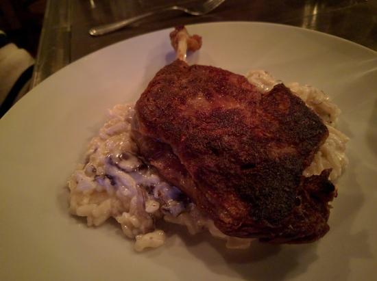 Brewster, NY: Duck and Risotto Special