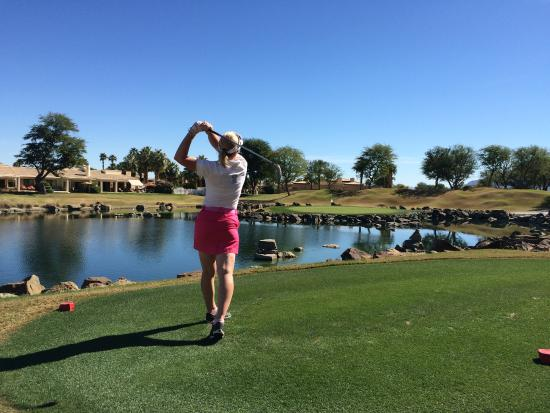 PGA West TPC Stadium Golf Course: A challenging, but enjoyable course.