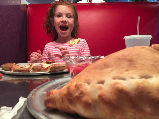 Lupi's Pizza Pies : GIANT Calzones make me smile!