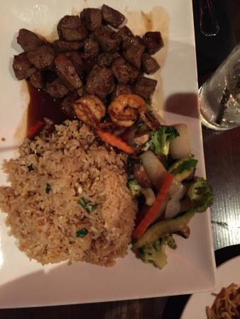 9 East: Steak Hibachi Noodles