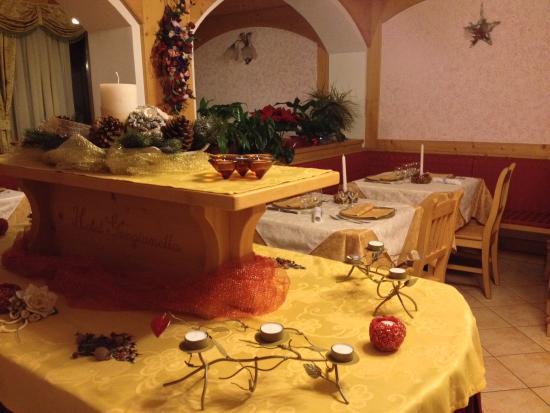 Hotel Genzianella: Decorazioni Cenone di S.Silvestro