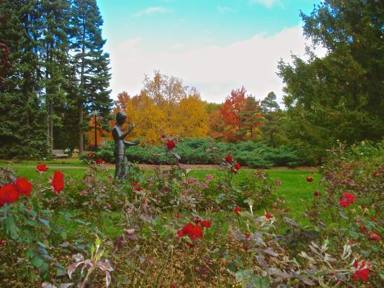 jardin botanique de montr al automne 2015 photo de