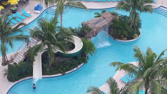 Margaritaville Beach Resort Kids Pool With Waterfall Land Slide