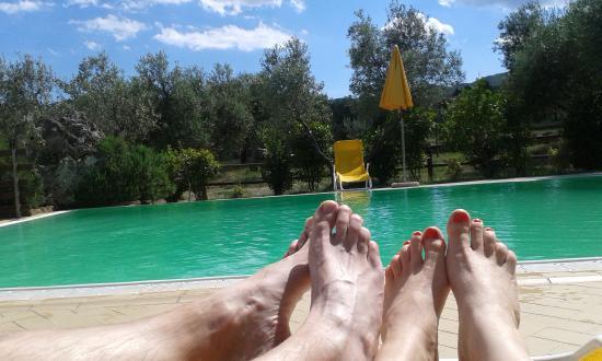 Orciatico, Italië: dolce vita