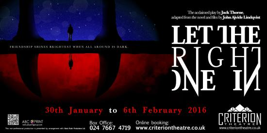 Coventry, UK: Let The Right One In
