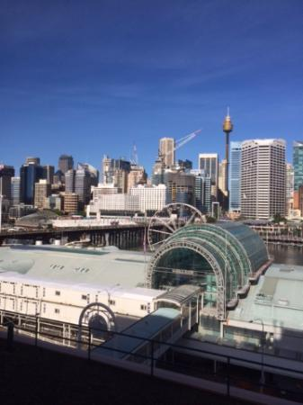 View from room, Downtown Sydney over Darling Harbor