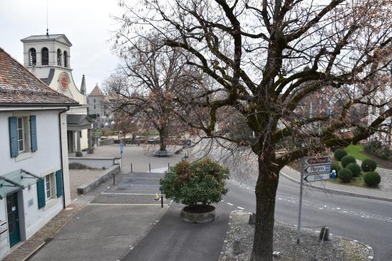 Auberge de Prangins: View from bedroom