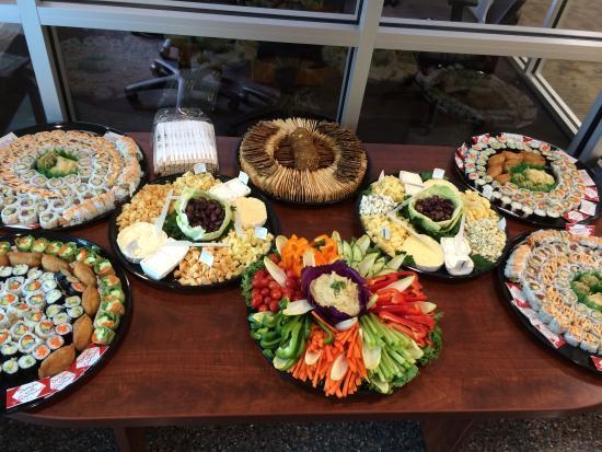 Peterborough, NH: Catering platters