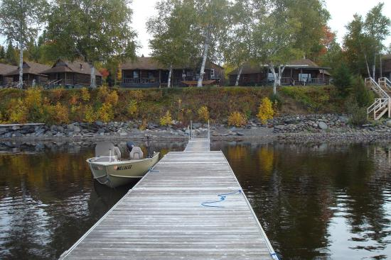 Eagle Lake Sporting Camps View From The Docks