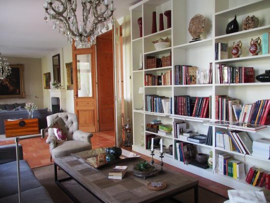 Saint-Estephe, Γαλλία: Seating room