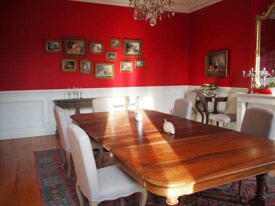 Saint-Estephe, Γαλλία: Dining room