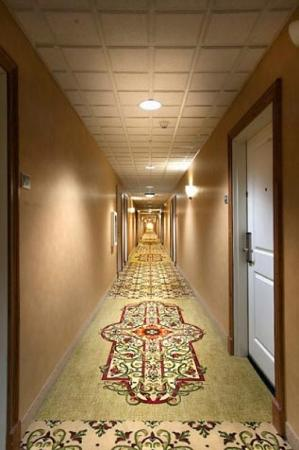 Natchez Grand Hotel: Corridor