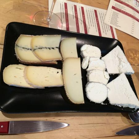 Candes-Saint-Martin, Francja: l'assiette de fromage