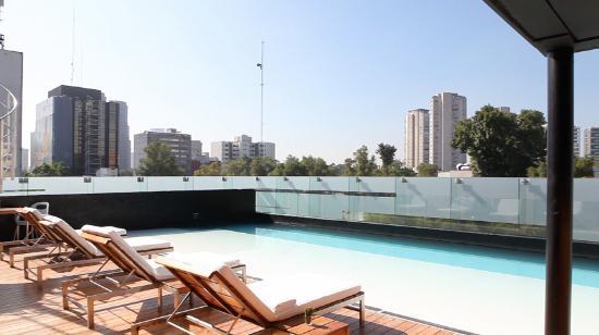 Alberca En La Terraza Picture Of Hotel Habita Mexico City