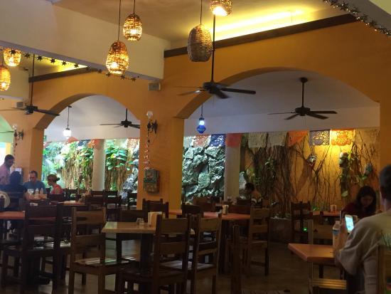 Restaurant interior picture of la choza cozumel