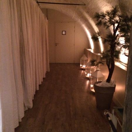 Montsoreau, Francia: les cabines du Spa