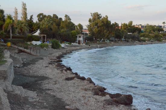 Andreas & Melani Beach Hotel : Strand