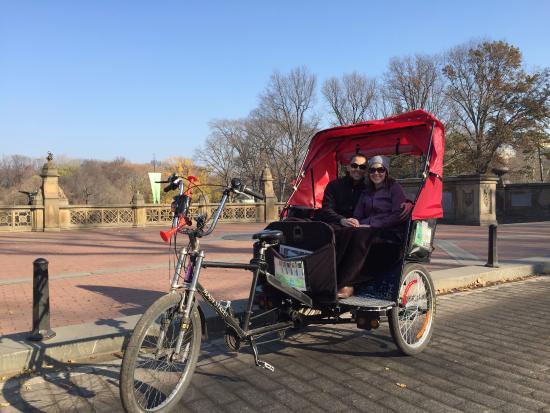 Best Pedicab Tour Central Park