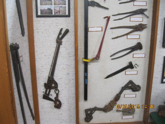 McLean, TX: Some fence tools