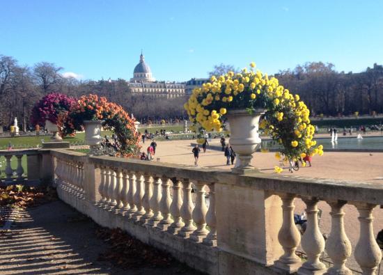 Du jardin du luxembourg vers le panth on picture of - Jardin du luxembourg hours ...