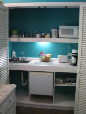 Miles Away Villa Resort & Spa : kitchenett