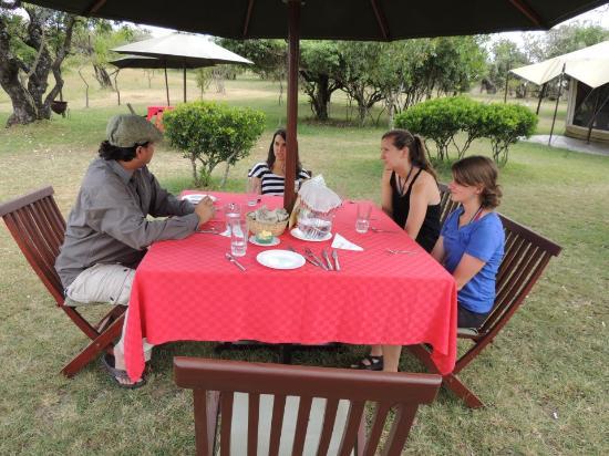 Mara Siria Camp: Dining