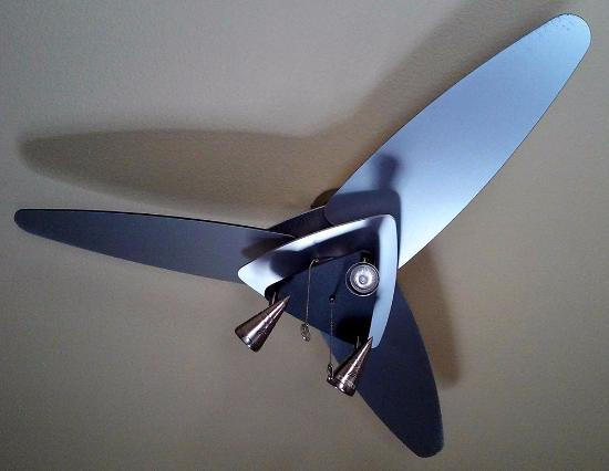 BEST WESTERN PLUS Christopher Inn & Suites: Stylin' Ceiling Fan
