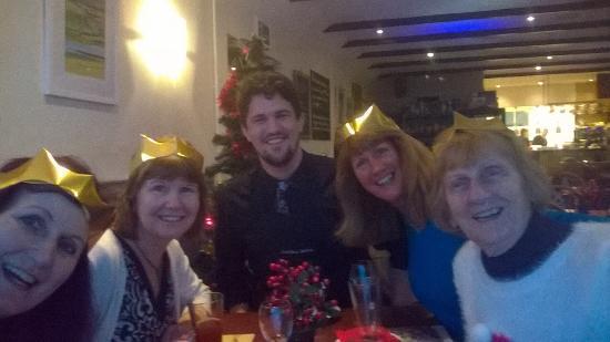 Rosemarkie, UK: Xmas lunch with family