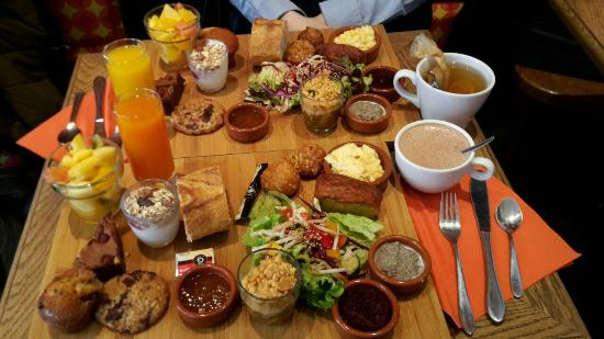 Sunday brunch photo de bistrot chocolat strasbourg for Au jardin les amis sunday brunch