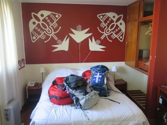Hostal Eureka: Les bagages sont prêts pour le départ pour le trek !