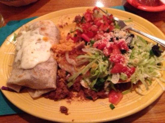 Solana Beach, CA: Burrito & Cheese Enchilada