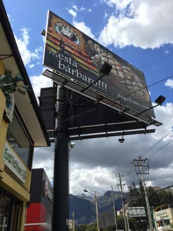Esteban Grill Steak House: A frente do restaurante