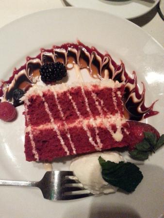 Metro: Red velvet cake
