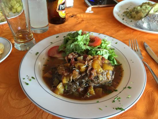 Esteban Grill Steak House: Meu prato