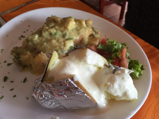 Esteban Grill Steak House: Prato da uma amiga