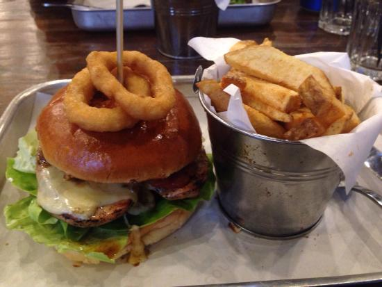 Loaded Gourmet Burger and Fries : photo0.jpg