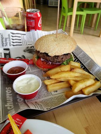 Chacho Fresh Burger: Perfection :-)