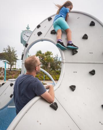 Blue Wahoos Ballpark: Wahoos playground