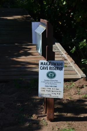 Kalaheo, Hawaï: Entrance to the cave