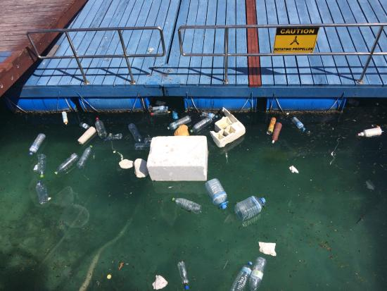 Niyama: Water bottles, rubbish and more rubbish