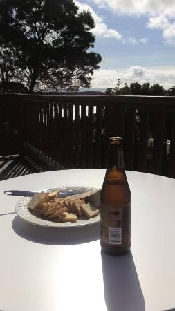 Gordon Gateway: Snacks on the deck