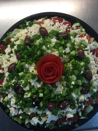 Woody's Famous Salads: Chopped Greek Salad (catering size)
