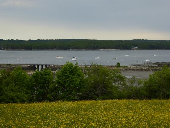 Picture of Boothbay Harbor from Castle Tucker Home